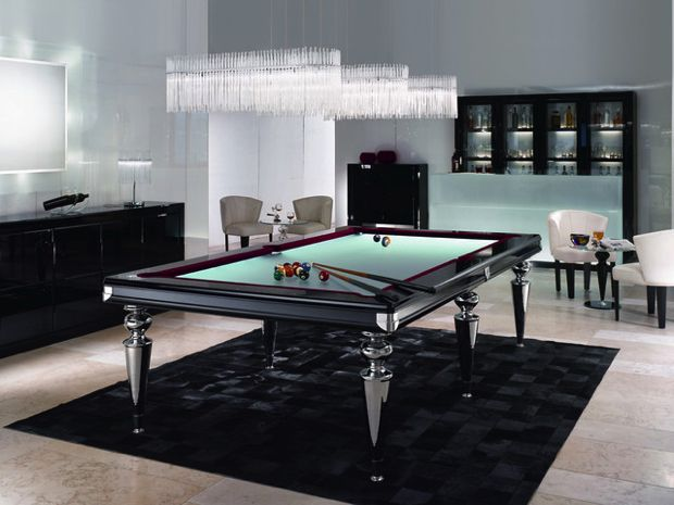 25 Playing Tables for a Modern Gaming Room - luxus wohnzimmer modern