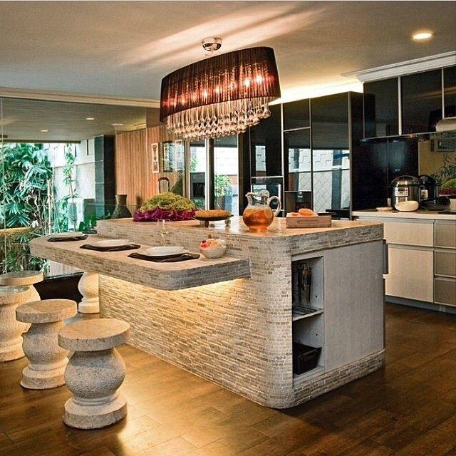 stone kitchen island stone kitchen island home kitchens kitchen decor on kitchen ideas unique id=28883