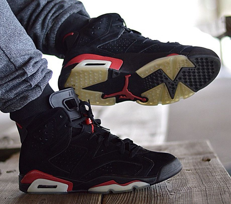 772b305d00edd Air Jordan 6 black Infrared - jlin1314