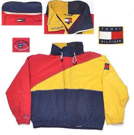 2cef4ff51 Vinatage tommy hilfiger sailing gear colorblock jacket #vintagetommy # vintagetommyhilfiger #polosport