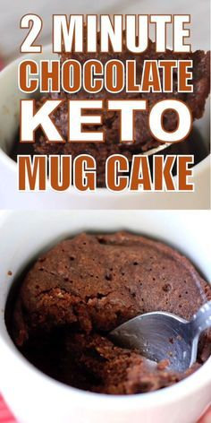 Keto Chocolate Mug Cake (ZERO Net Carbs!)