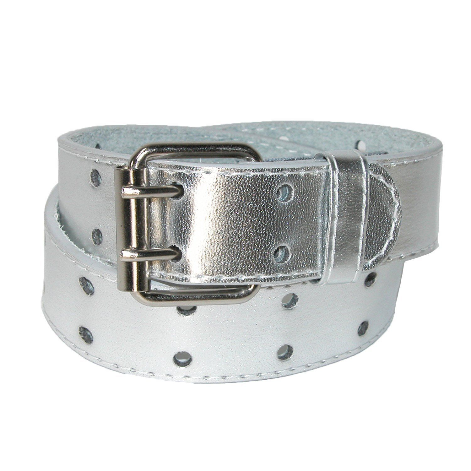 New CTM Kids/' Leather Two Hole Jean Belt