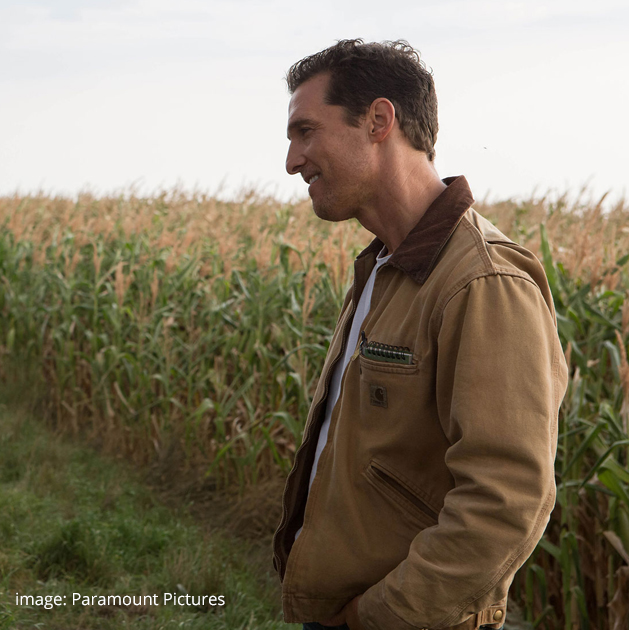Carhartt Men's Duck Detroit Jacket - Interstellar Matthew McConaughey Jacket