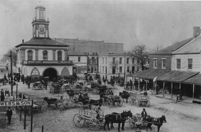 Historic Fayetteville Nc Downtown Fayetteville And The Market House In 1900 Historic Tours America City Oak Island
