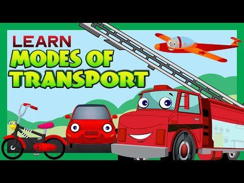Modes Of Transport For Children Kids Learning Kids Hut