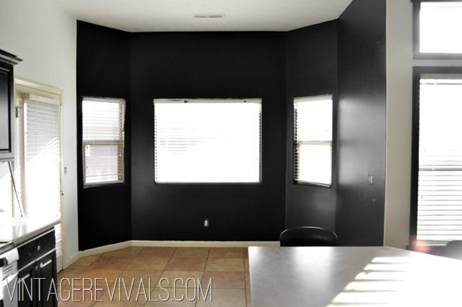 Black that wall up black furniture satin finish and walls - Satin paint on walls ...