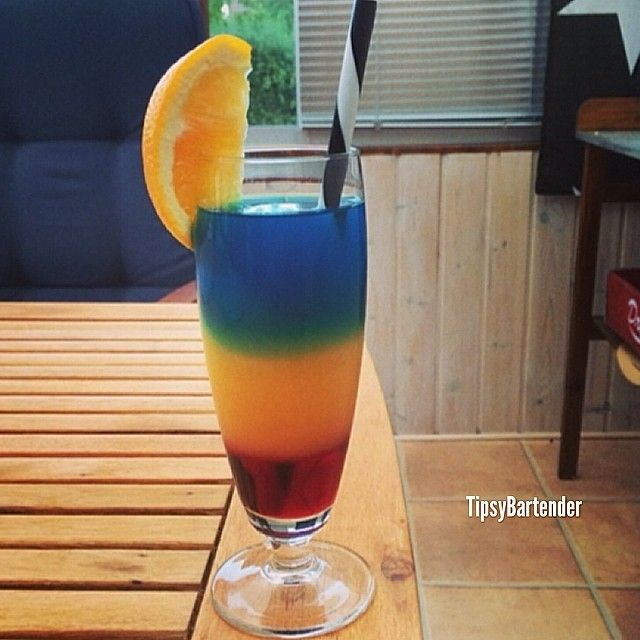 Barbados Surprise Cocktail - TipsyBartender.com