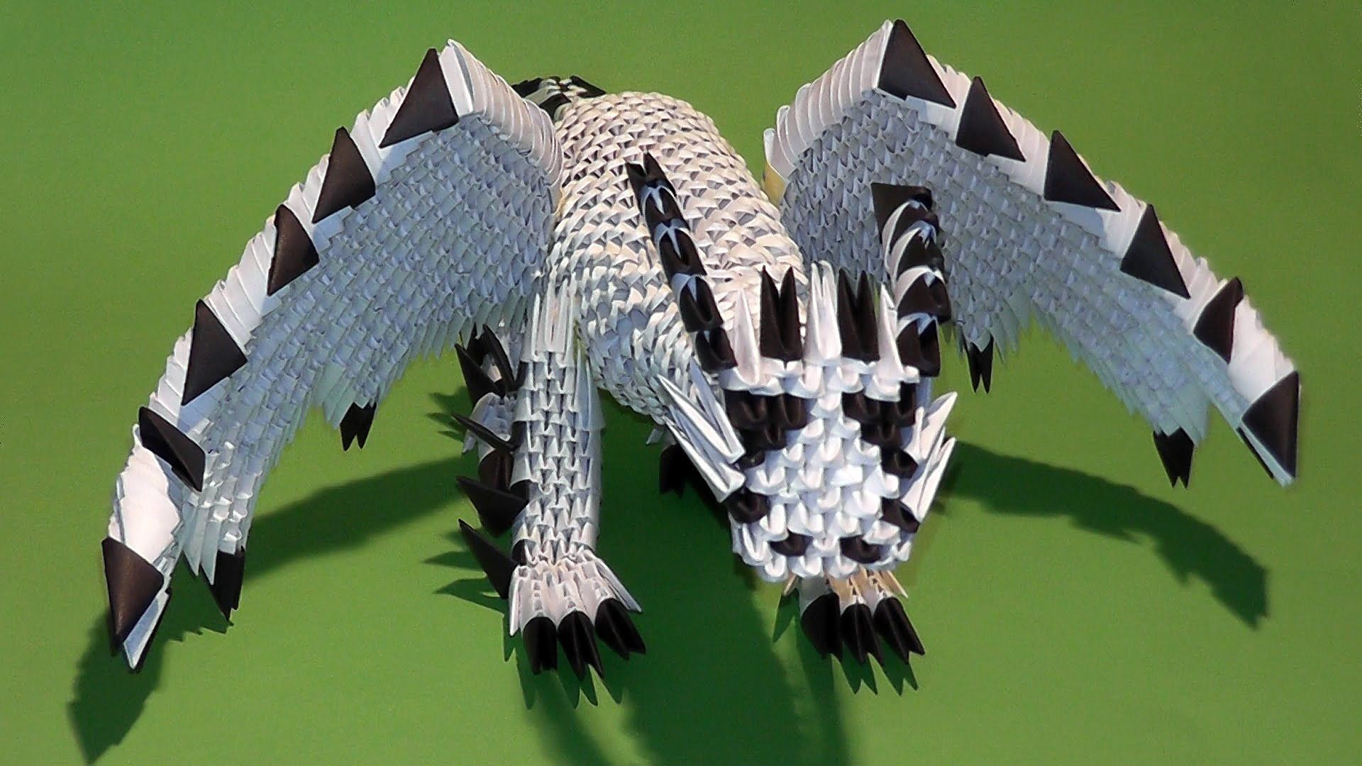 3d origami dragon with wings origami pinterest origami 3d origami dragon with wings jeuxipadfo Images