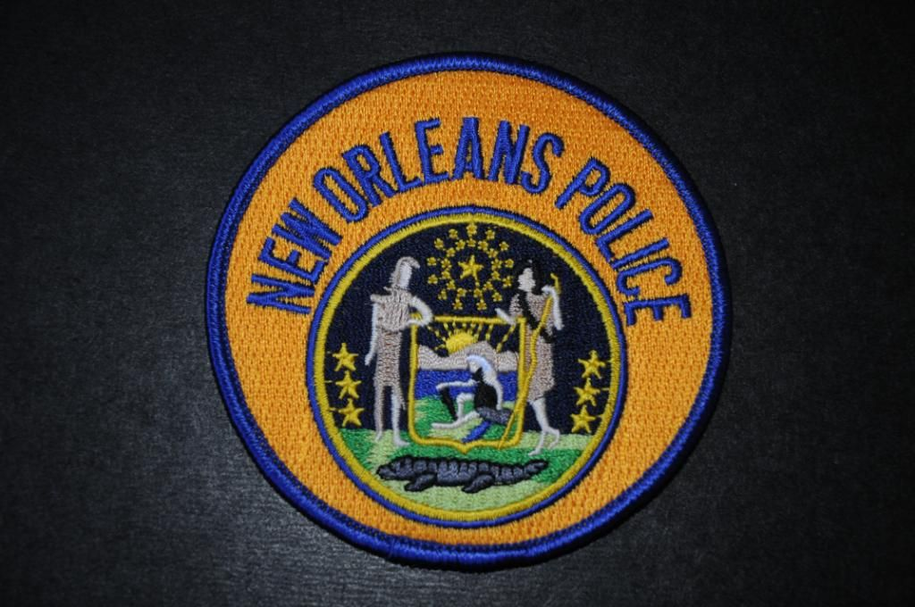 New Orleans Police Patch Orleans Parish Louisiana Current Issue Police Patches Police Badge Police