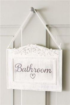 Pin By Paulmichelle Alix On Blue Sky Inn B B Bathroom Signs Bathroom Door Sign Girly Bathroom