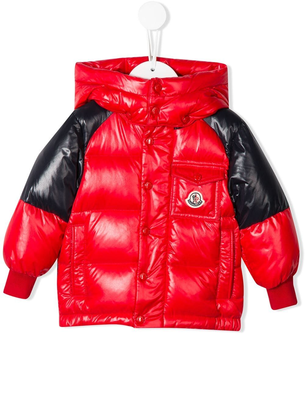 71e3cf307 Moncler Kids Biarriz padded jacket - Red in 2019 | Products | Padded ...