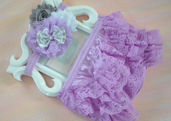 Lilac lace baby Bloomer,Lilac Ruffle Diaper Cover,Photo Prop,Newborn Ruffle Diaper covers,Lavender Newborn Bloomer Set,baby shower girl gift