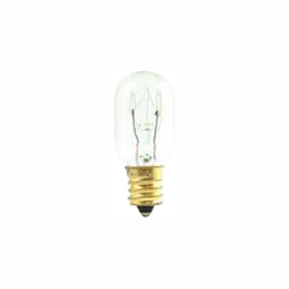 Bulbrite 15 Watt T7 Clear Dimmable Warm White Light Incandescent