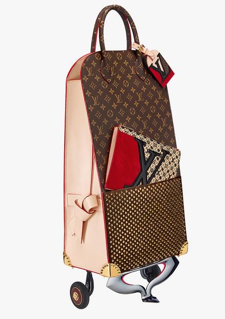 77d57aa03a53 Louis Vuitton Christian Louboutin Shopping Trolley -  23