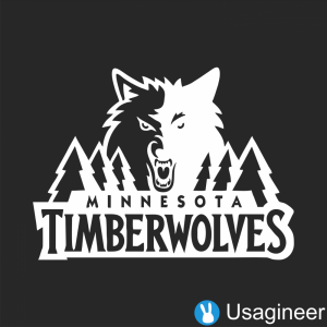 MINNESOTA TIMBERWOLVES NBA Sports VINYL DECAL STICKER The Custom - Custom vinyl decals minnesota