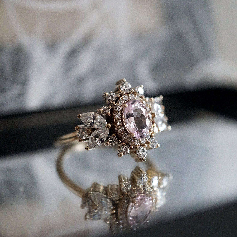 Coco Morganite Diamond Ring