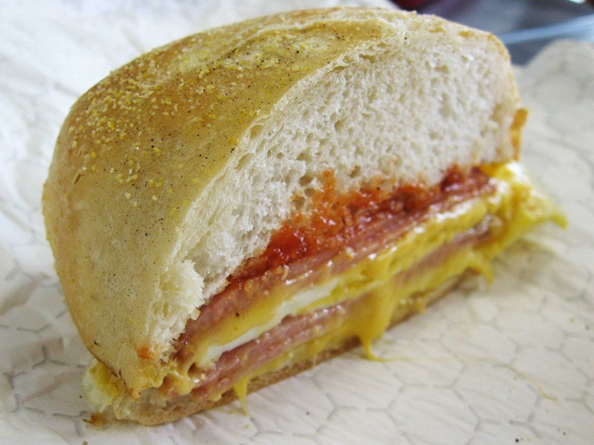 The jersey breakfast sandwich its thick cut taylor ham or pork the jersey breakfast sandwich its thick cut taylor ham or pork roll nvjuhfo Choice Image