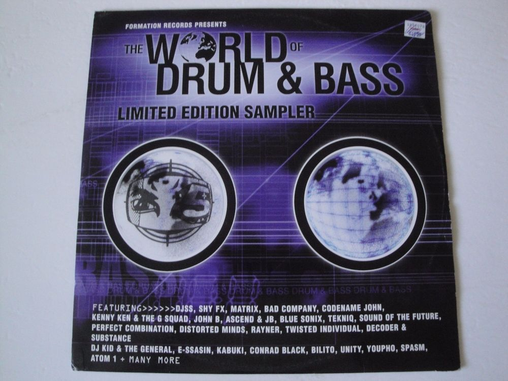 Formation Records / The World Of Drum & Bass (Sampler) 1999 VINYL RECORD UK #BigBeatDrumnBassJungleDubstepElectroFunkElectronicaHouse