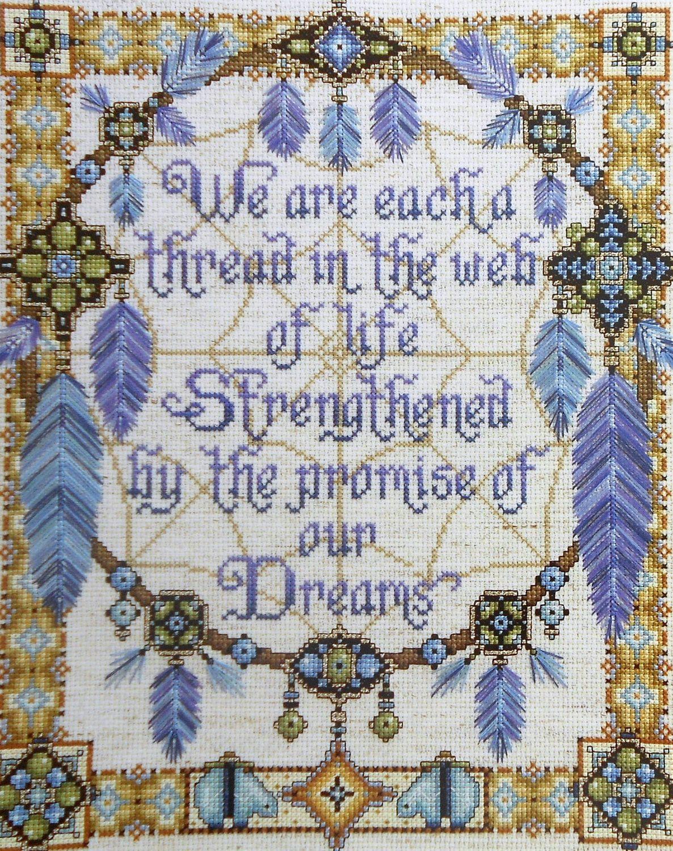 Native American Dreamcatcher Cross Stitch Patterns