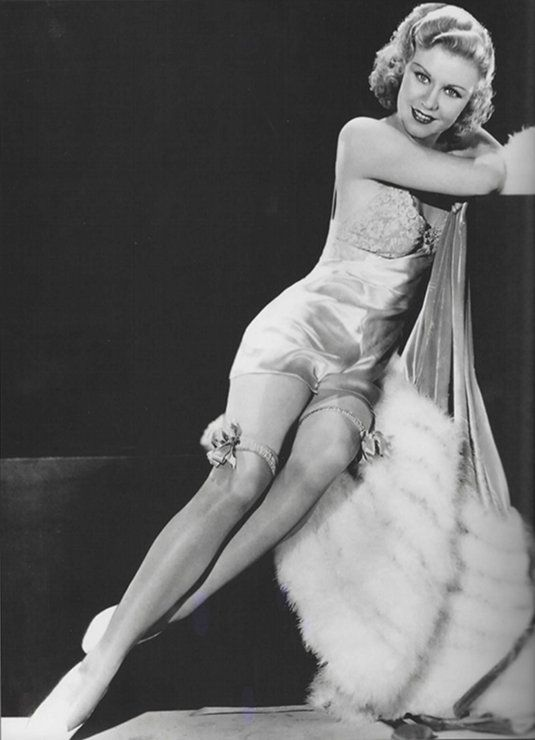 Cheaply ginger rogers lingerie the life