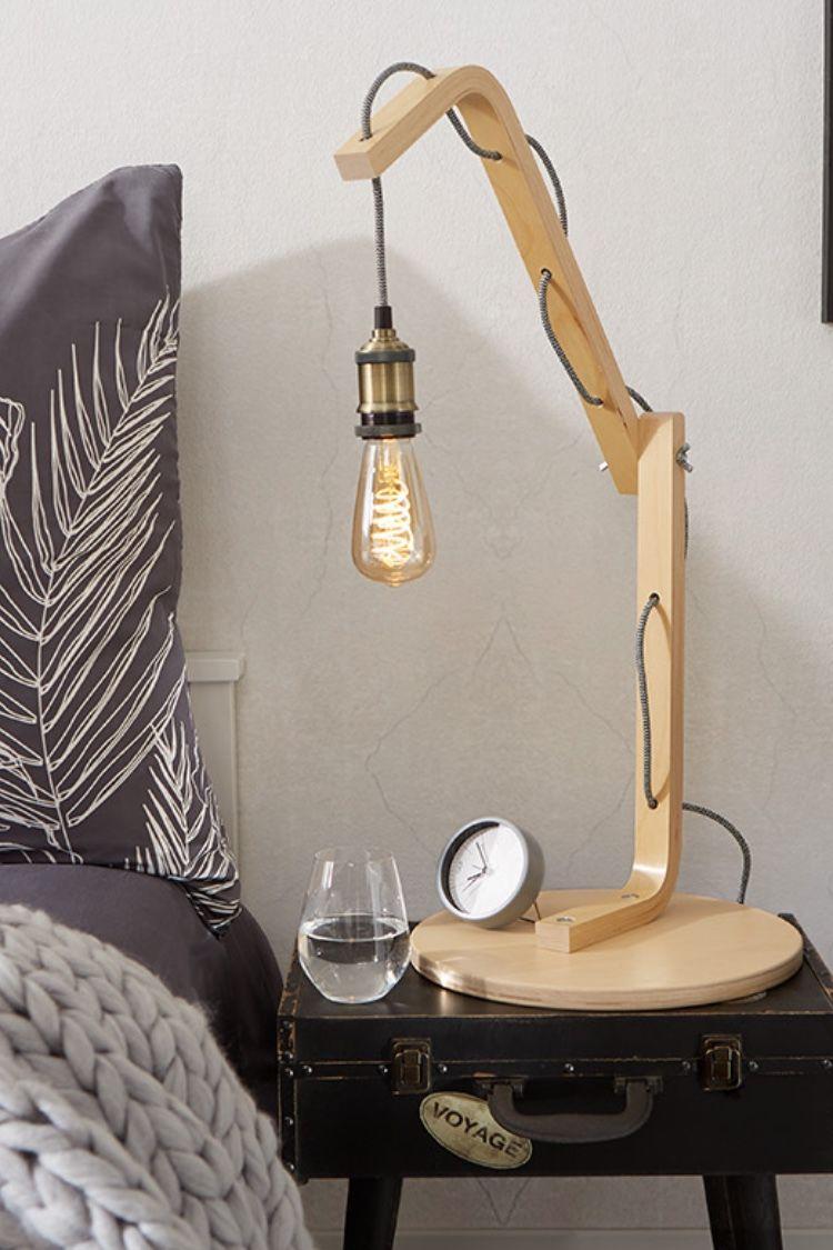 Tischlampe Aus Holz Selber Machen Tischlampen Tischlampen Aus