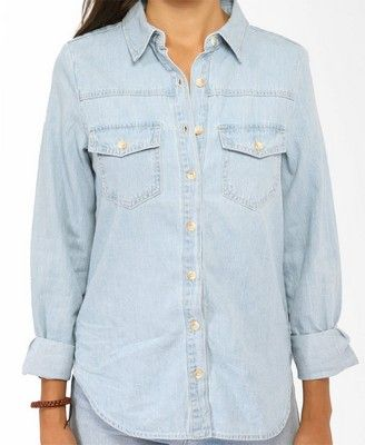 Classic Denim Shirt  CAD $23.80
