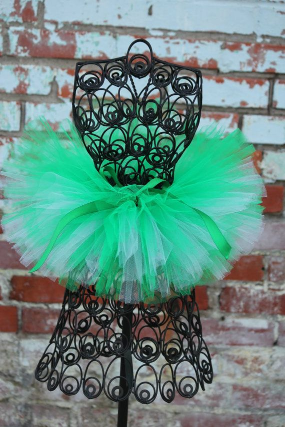 Easy Being Green Tutu by HappyGirlsBoutique on Etsy, $30.00