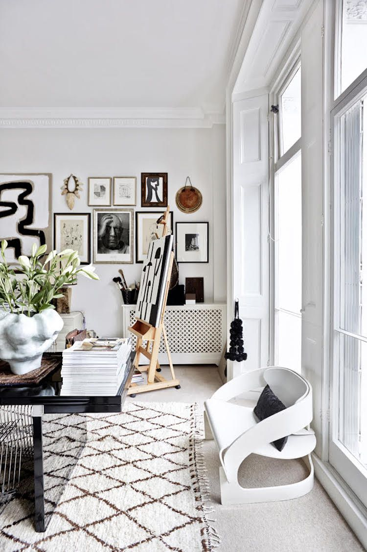 The striking, eclectic home of Malene Birger (my scandinavian home ...