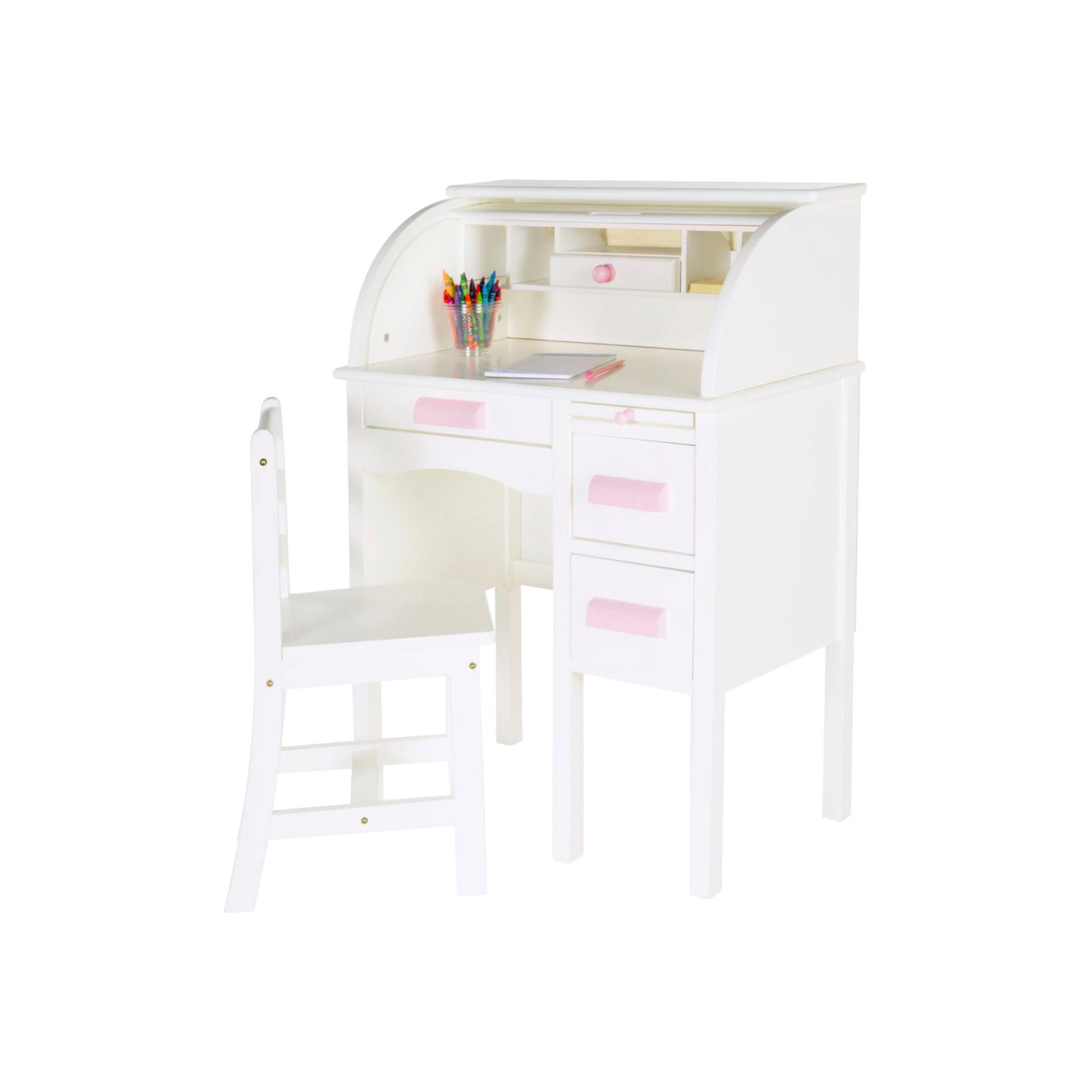Loft bed with desk jordan's furniture  Kids Jr RollTop Desk  White  Guidecraft  Pinterest  Desks and