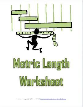 metric length worksheet a science measurement resource elly thorsen 39 s middle school science. Black Bedroom Furniture Sets. Home Design Ideas
