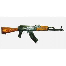 Romanian AK-47 military variation rifle w/ military style