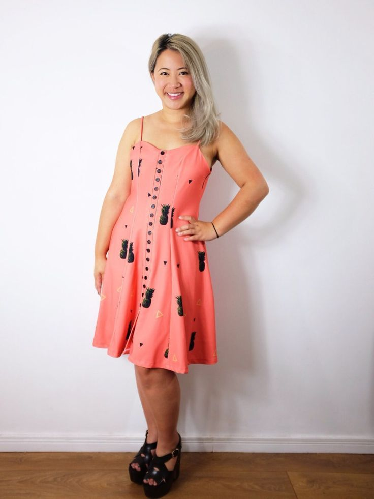 Nina Lee Kew dress sewing pattern | Nähen Inspiration || DIY ...