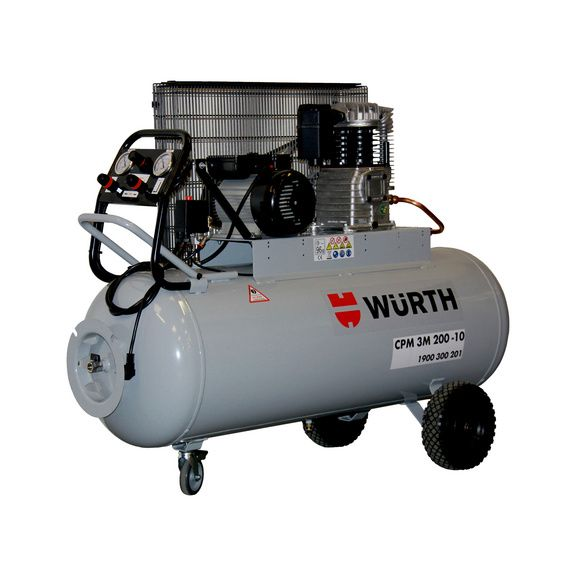 Acheter Compresseur D Air 200 L 3 Cv Monophase 0701300201 Wurth Compresseur D Air Compresseur Garage Auto