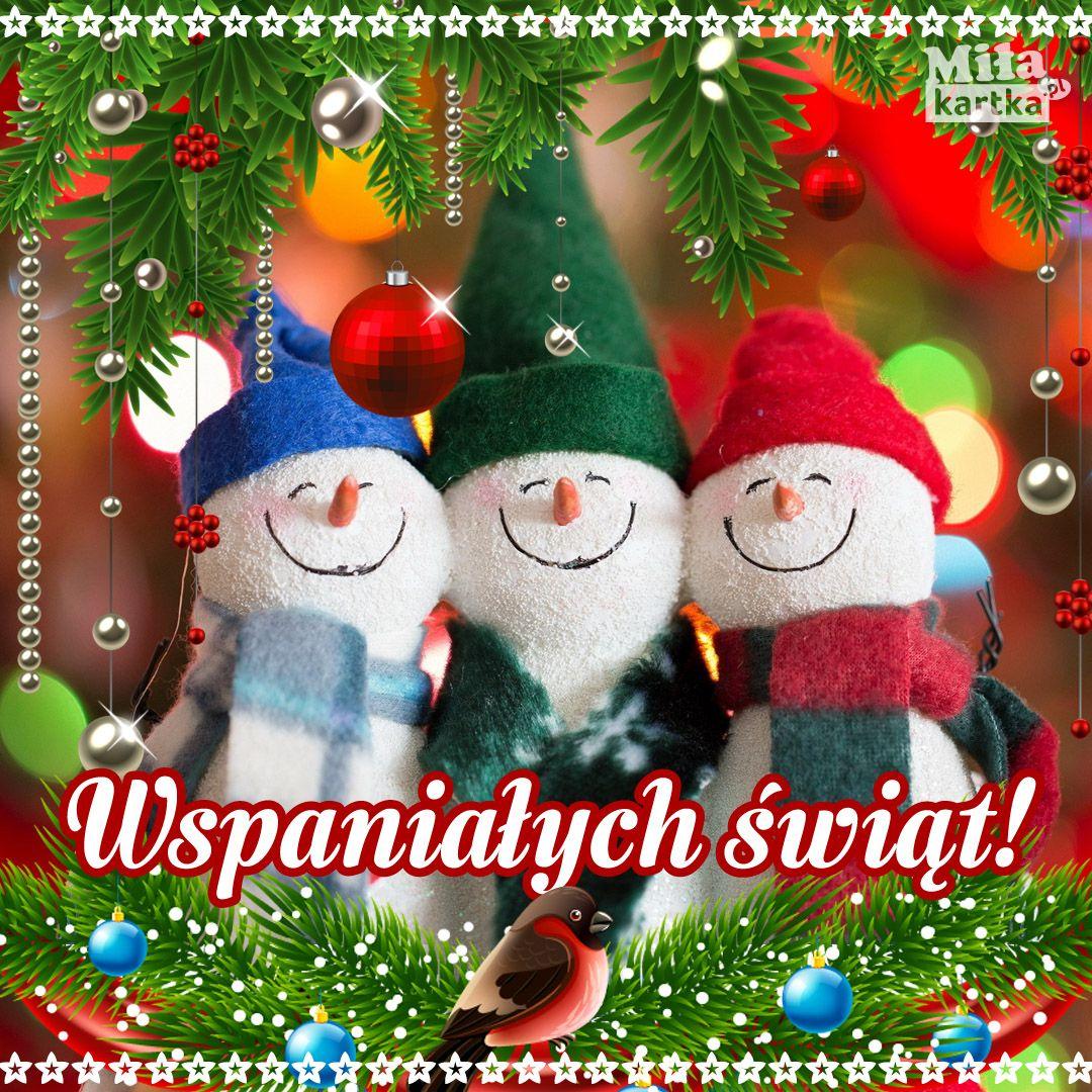 Wspanialych Swiat Kartka Boze Narodzenie Sylwester With