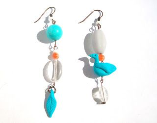 polymer clay bird earrings from http://marysmerryland.blogspot.gr
