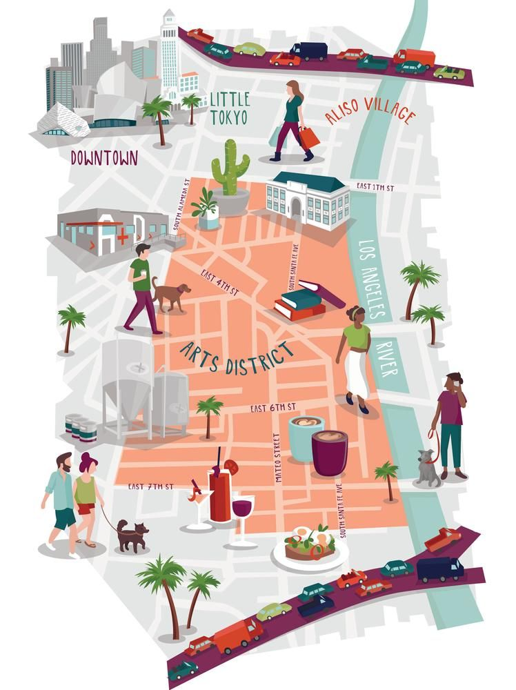 L.A.'s Arts District: A Walking and Gawking Guide | California ... on