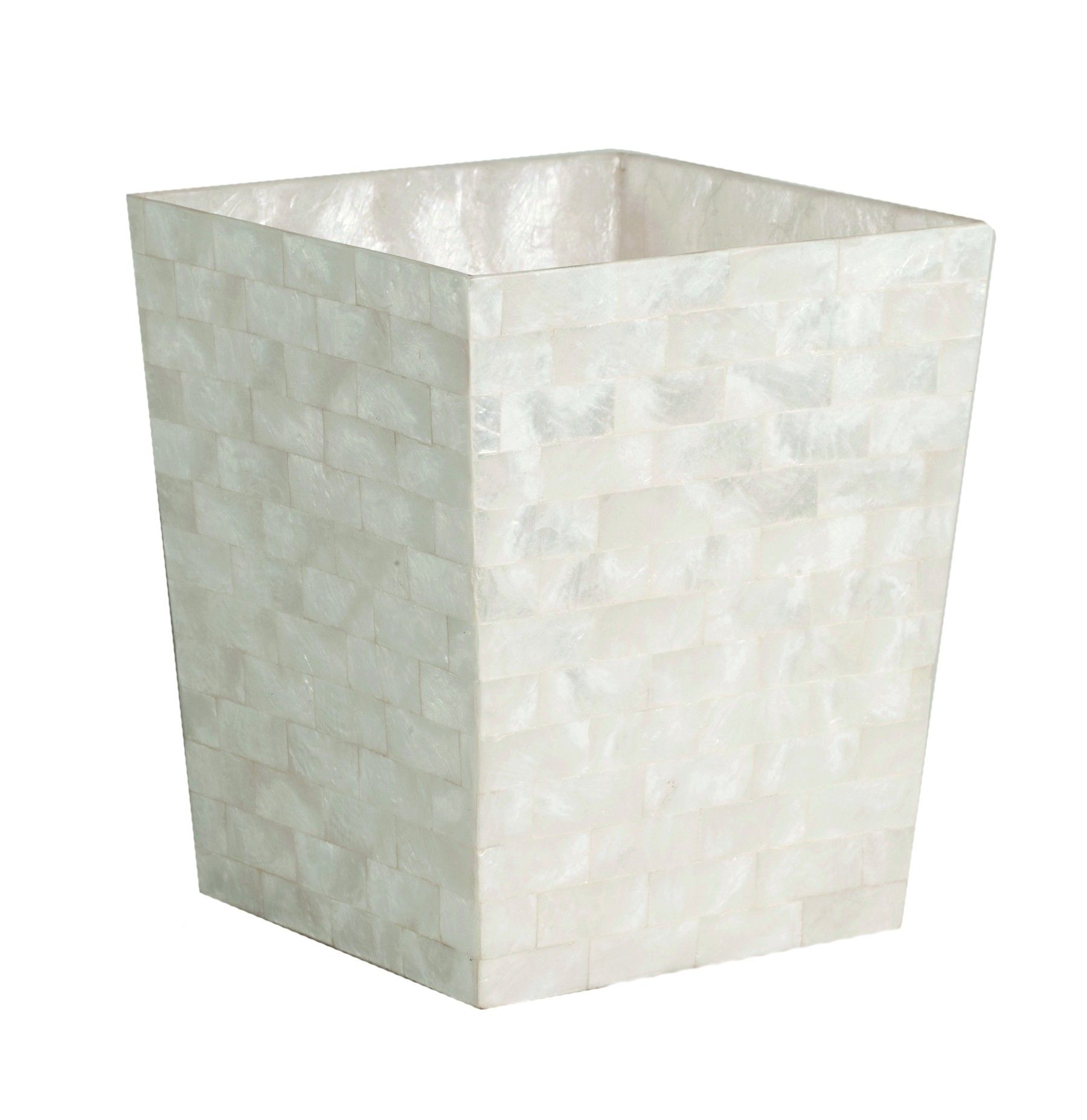 Image Result For Mother Of Pearl Bathroom Wastebasket Can
