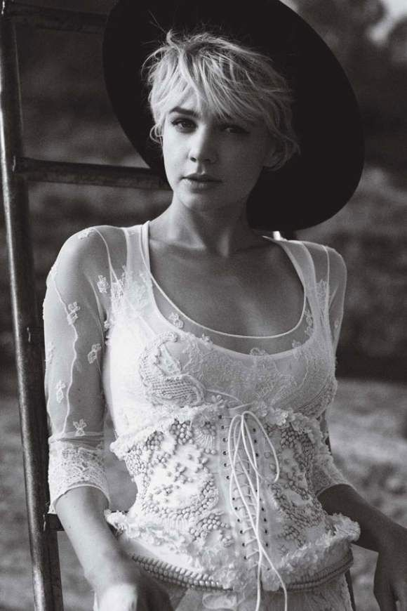 I had my hair like this for a while. #CareyMulligan