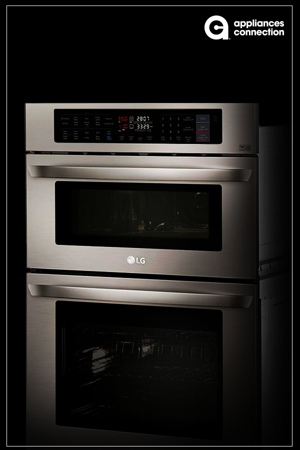 30 Inch Electric Double Wall Convection Oven Microwave Combo The