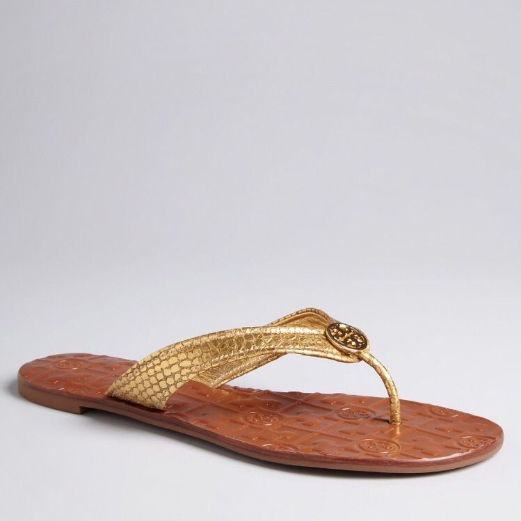 b27b93602c4f5 Tory Burch Thong Flip Flop Sandals Love these!
