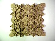 Origami Tessellation by Anna Kastlunger on giladorigami.com