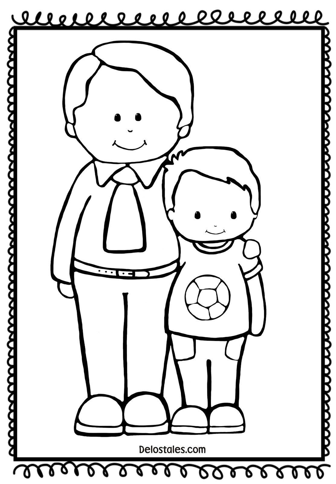 Lujoso Día De Los Padres Para Colorear Cristiano Composición - Ideas ...