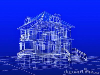 House blueprint stock images image example created with smartdraw house blueprint stock images image example created with smartdraw malvernweather Gallery