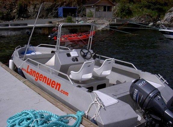 Alubåt Macofisher 580, 19 fot 50hk Yamaha F50 -