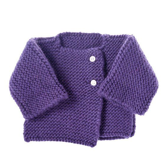 1ceac3ab0c9f SALE 50% OFF Kids Cardigan   Hat Handmade from Super Soft Merino ...