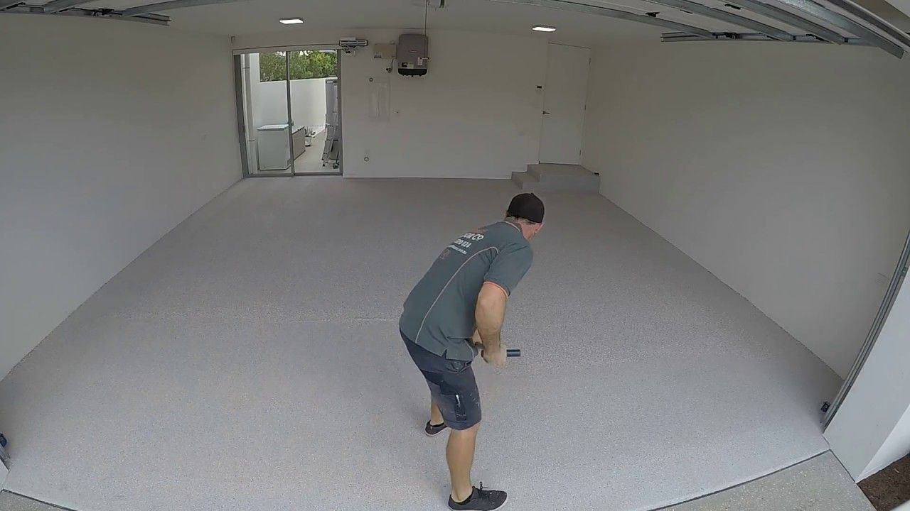 How To Install Epoxy Flooring Day 3