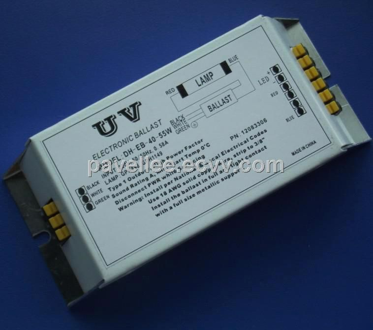 Uv Electronic Ballast For H18w Uv Lamp China Electronic Ballast Uv Lighting Ballast Uv Lights Glt Ultraviolet Lamp Red And Blue Make Red Lamp