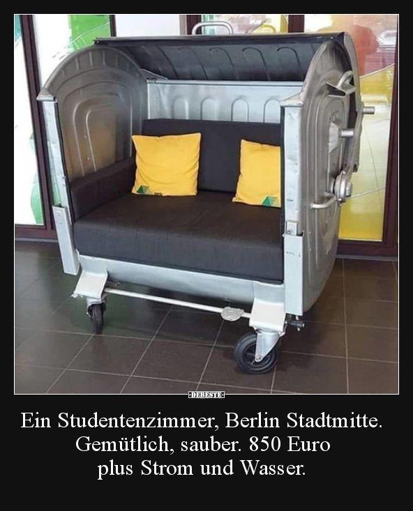 Ein Studentenzimmer, Berlin Stadtmitte. Gemütlich, sauber... #toddlerrooms