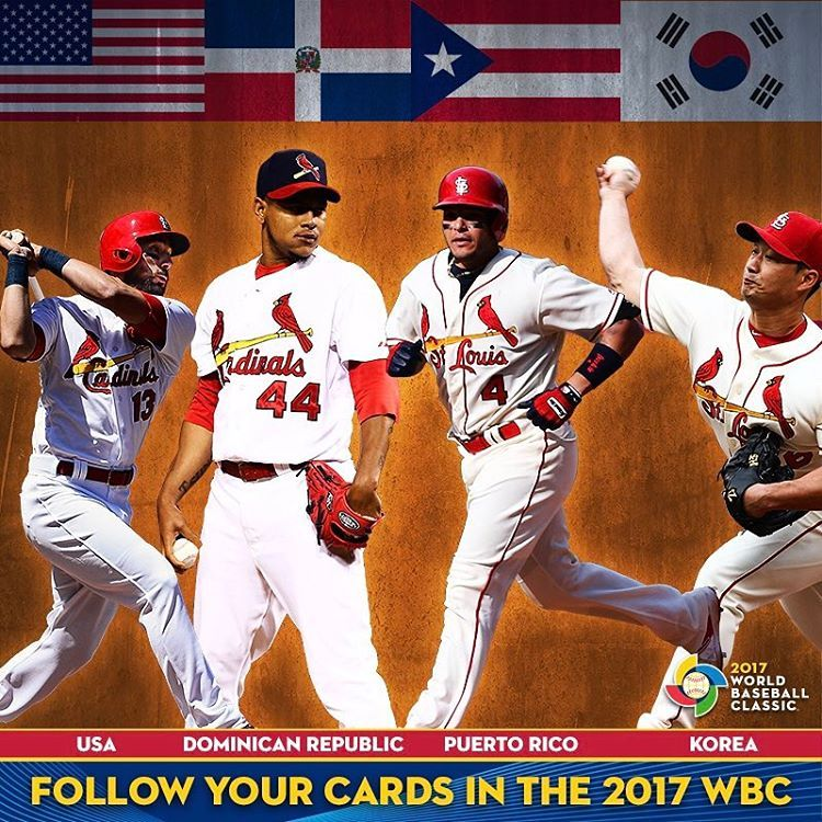 World Baseball Classic Cards Are Well Represented All Cardinals