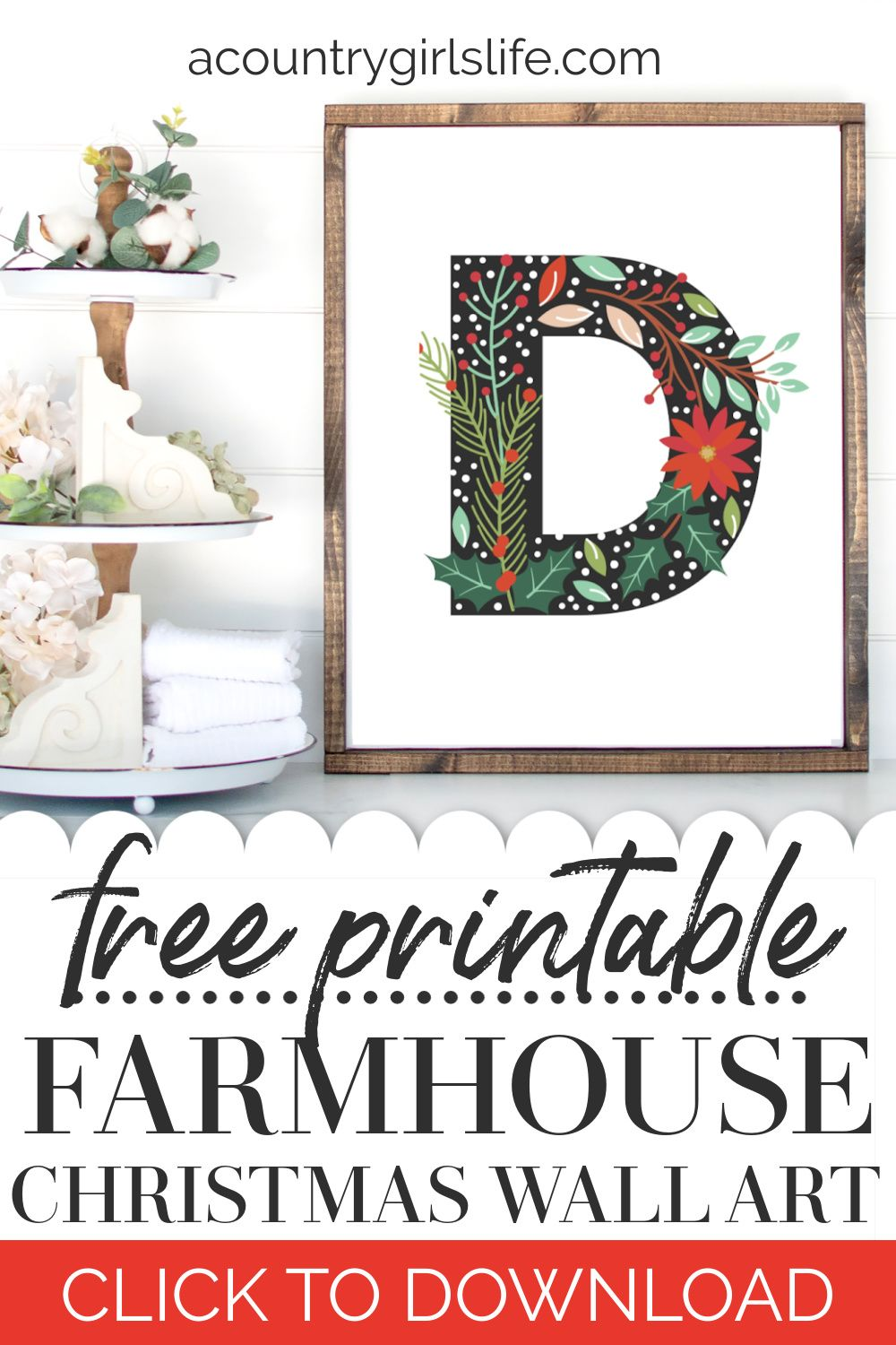 Free Christmas Wall Art Printable For Instant Decor Christmas Wall Art Printables Christmas Wall Art Diy Christmas Prints Free